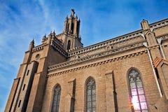 roman katolsk kyrka Royaltyfri Bild