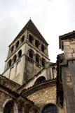 Roman kerk van heilige philibert, tournus Stock Afbeelding