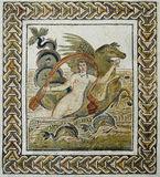 roman kidnappningEuropa mosaik arkivbilder
