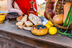 Roman kitchen Stock Photography