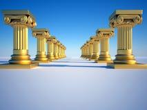 Roman kolommen Stock Foto's