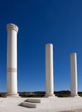 Roman kolommen stock fotografie