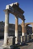Roman Kolommen Stock Afbeelding