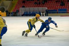 Roman Kozulin (28) en la acción Imagen de archivo