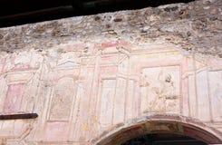 Roman kunst-IA-Pompei-Italië Royalty-vrije Stock Fotografie