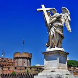 Roman landmarks Stock Photo