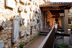 Roman lapidarium Royalty Free Stock Images
