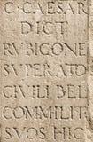 Roman Latin Letters Royalty-vrije Stock Foto