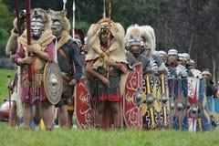 roman legion royaltyfria foton