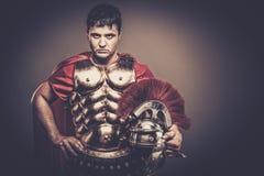 roman legionairmilitair Royalty-vrije Stock Afbeeldingen