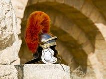 Roman Legionar's helmet Royalty Free Stock Photos