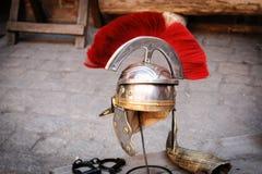 Roman legionary helmet Royalty Free Stock Image
