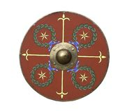 Roman legionary shield Royalty Free Stock Image