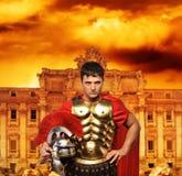 Roman legionary soldier Royalty Free Stock Photos