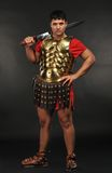 Roman legionary soldier. Picture of a Roman legionary soldier Royalty Free Stock Photos
