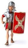 Roman legionary soldier Stock Images