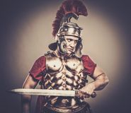 Roman legionary soldier Royalty Free Stock Images