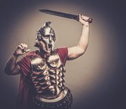 Roman legionary soldier Royalty Free Stock Photography