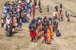 Roman legions Stock Photography