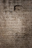 Roman letters texture Royalty Free Stock Images