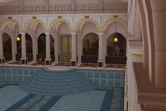 Roman luxurious swimming pool Stock Photo