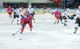 Roman Lyubimov en avant (13) Image stock