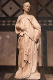 Roman Marble Statue Man Royalty Free Stock Images