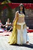 Roman market 71 -  Dancers Stock Image