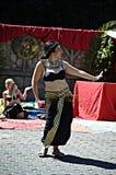 Roman market 104  Dancers Royalty Free Stock Images