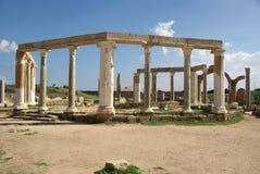 Roman market, Libya Royalty Free Stock Photo