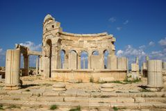 Roman market, Libya Royalty Free Stock Photos