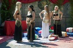 Roman markt 55 - Dansers Royalty-vrije Stock Foto's
