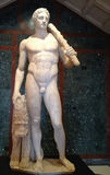 Roman marmeren standbeeld van Apollo Royalty-vrije Stock Foto's