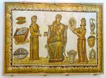 The Roman matron Royalty Free Stock Images