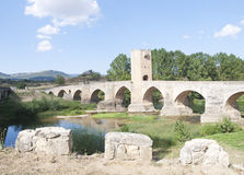 Roman-Medieval bridge Stock Images
