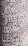 Roman Milestone Royalty Free Stock Image