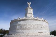 Roman monument in Adamclisi, Roemenië stock foto's