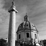 Roman monuments Royalty Free Stock Images