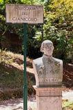 Roman monuments, Gianicolo Royalty Free Stock Photo