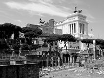 Roman monuments Stock Images