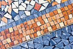 Roman Mosaic close up Stock Photos