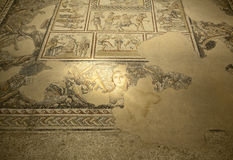 Roman Mosaic of Dionysius Royalty Free Stock Image