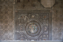 Roman mosaic with fish, Toledo Royalty Free Stock Photos