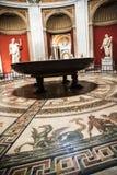 Roman Mosaic Floor antique dans les musées de Vatican à Ville du Vatican à Rome Italie Images stock