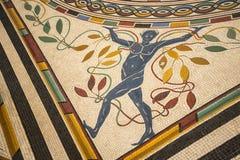Roman Mosaic Floor antique dans les musées de Vatican à Ville du Vatican à Rome Italie Photo libre de droits