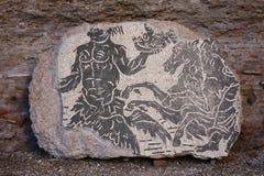 Roman mosaic floor Stock Image