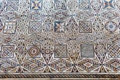 Roman mosaic fragment Stock Photos