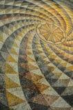 Roman mosaic tile Stock Photo