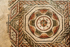 Roman mosaics Royalty Free Stock Images