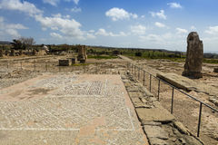 Roman mosaics in Cyprus. Royalty Free Stock Image
